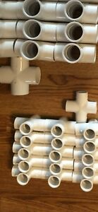 Pvc Schedule 40 Fittings Lot 1 1 4 3 4 1 2 New