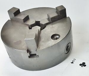 Skinner 18 Lb 6 Od Lathe Chuck Self Centering 3 jaw max Open 7 1 4 Usa Made