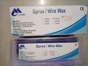 3 Packs Maarc s Sprue wire Wax Use For Dentures 600g Pack