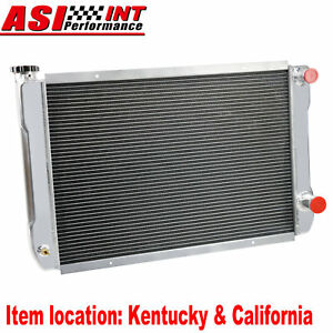 Universal Custom 2 Row Aluminum Radiator For 31 x19 Heavy Duty Gm Style