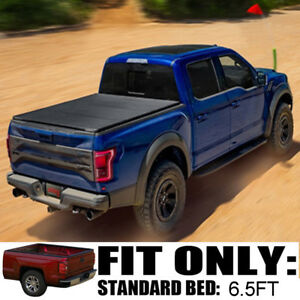 Hard Folding Tonneau Cover For 2002 08 Dodge Ram 1500 2500 3500 6 5ft Short Bed