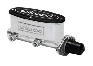 Wilwood Master Cylinder Polished 1 1 8 Bore Power Non Power Brakes High Volume