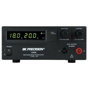 Bk Precision Switching Bench Dc Power Supply 1 18 V 0 20 A 1688b