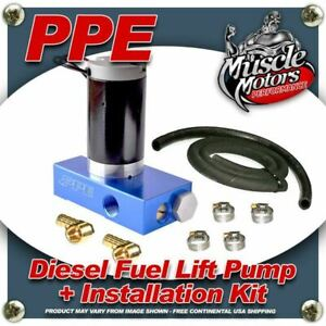 Ppe Diesel Fuel Lift Pump Installation Kit For Duramax Diesel Engines