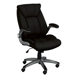 Office Executive Chair High Back Padded Armrests Computer Gaming Desk Task