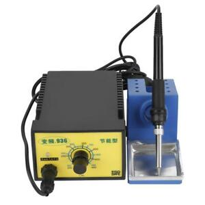 936 Variable Frequency Electric Soldering Station 60w Adjustable Temperature