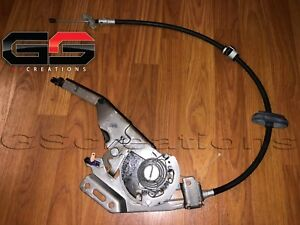 C6 Corvette E Brake Parking Brake Assembly Handle With Cable Custom Hot Rod