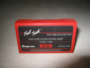 Snap On Mt2500 Troubleshooting Cartridge Gm Ford Chrysler Jeep Saturn Thru 95