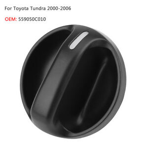 559050c010 A C Heater Air Conditioner Control Knob For Toyota Tundra 2000 2006