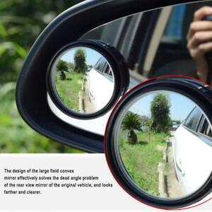 Wide Angle 360 Adjustable Round Convex Car Rearview Auxiliary Blind Spot Mirror