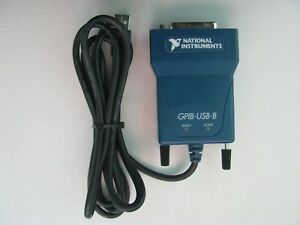 National Instruments Ni Gpib usb b Interface Adapter Ieee 488 Controller