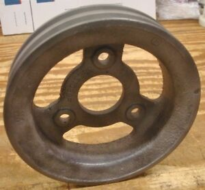 1965 1966 1967 1969 Corvette Chevelle Camaro 3863108bf Crankshaft Pulley 427 396