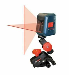 Bosch Gll 2 Self leveling Cross line Laser Level With Mount
