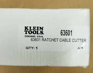 Klein Tools 63601 Ratcheting Cable Cutter