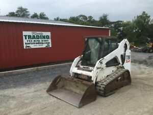 2004 Bobcat T190 Tracked Skid Steer Loader W Cab Coming Soon