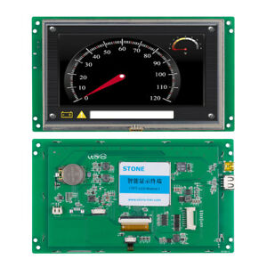 Stone 7 Tft Lcd Controlled By Any Mcu For Home Automation System