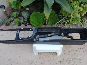 Porsche 997 2 Convertible Carbon Fiber Center Console Oem Some Imperfection