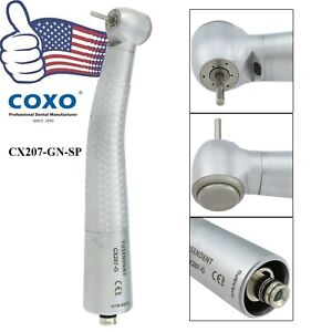 Coxo Dental Fiber Optic High Speed Handpiece Fit Led Nsk Phatelus Coupler Gn sp