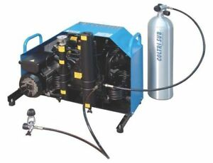 Air Compressor For Scuba Shop Or Paintball Field 9 Cfm Electric New