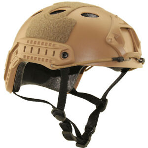 Military Tactical Airsoft Paintball SWAT Base Jump Protective Fast Helmet