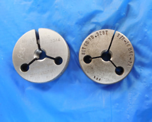 3 8 16 Unc 2a Thread Ring Gages 375 Go No Go P d s 3344 3287 Free Shipping