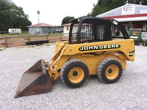 John Deere 240 Skid Steer With 704 Hrs 53 Hp can Ship 1 85 Mile