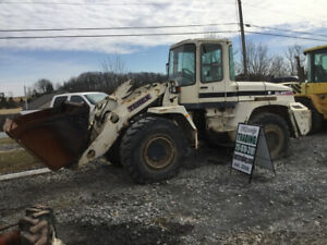 2003 Terex Skl873 Wheel Loader W Cab Unit Needs Work