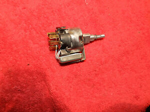 Rebuilt 3 Speed Wiper Switch 71 72 73 74 Roadrunner charger Rally Gauges