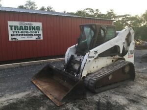 2003 Bobcat T300 Tracked Skid Steer Loader W Cab