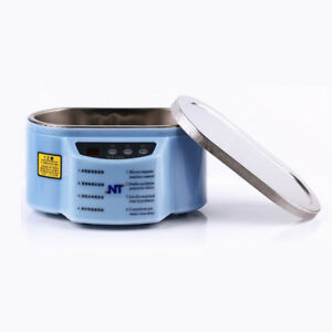Digital Ultrasonic Cleaner Parts Dental Watch Jewelry Timer Machine Sterilizer