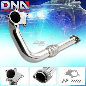 2 5 T3 T4 Honda B D Series D16 B18 5 Bolt Turbo Stainless Steel Downpipe Exhaust