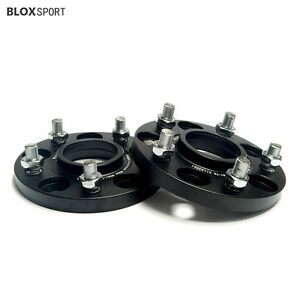 2pc 15mm 5x114 3 67 1 Hb Hubcentric Wheel Spacers For Mitsubishi Lancer Evo