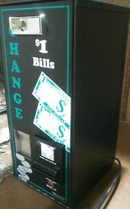 American Changer Ac500 1 Bill Changers Like new Both In Pristine Condition