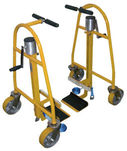 Hand Operated Mechanical Furniture Equipment Moving Dolly 1300 Lb Capacity