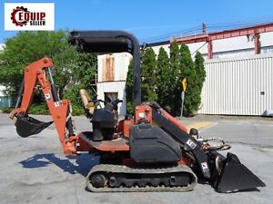 Ditch Witch Xt850 Backhoe Loader Mini Excavator Diesel