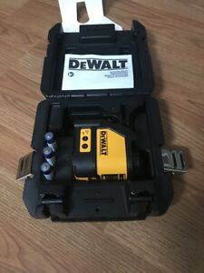 Dewalt Dw088k Self leveling Cross Line Laser Level 100 ft Range