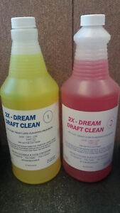 Beer Line 2x dream Draft Line Cleaning Chemical Part 1 2 free Shipping