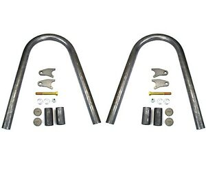 Weld On Shock Hoop Kit W Coil Over Shock Mounts Pair Off Road 4x4 Crawler Jeep