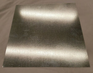 Galvanized Steel Sheet Metal 18 Gauge 32 X 32 Scrap Hvac Welding Motorcycle