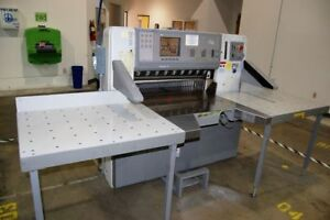 2000 Polar Model 92 Ed 36 Programmable Paper Cutter With Air Table Challnge
