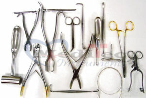 Veterinary Orthopedic 20 Pieces Set Surgical Veterinary Orthopedic Instruments