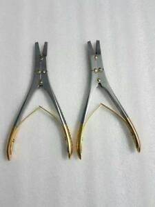 T c Surgical Wire Twister Plier Orthopedic Instruments 2 Pieces