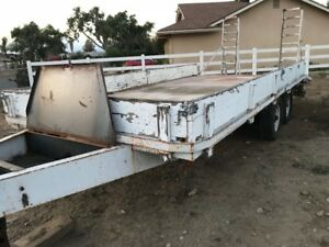 Flat Bed Heavy Duty Trailer Aztex 15000lb