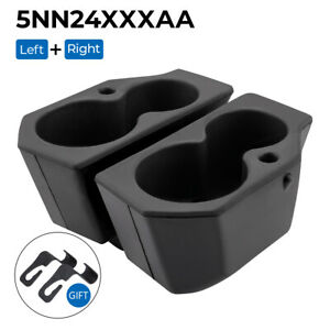 Front Driver Passenger Side Door Panel Cup Holder For Dodge Ram 1500 2500 09 18