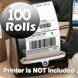 100 Rolls Dymo 4xl Thermal Shipping Labels 4x6 Postage Labels Compatible 1744907