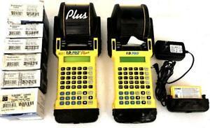 Two Brady Id Pro Plus Wire Marker Handheld Label Printer Bundle For Parts