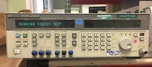 Agilent 83732b Synthesized Signal Generator 10mhz To 20ghz Option 1e5