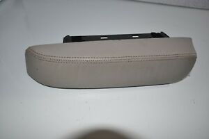 2000 2002 Mercedes Benz W220 Armrest Leather Cup Holder Gray