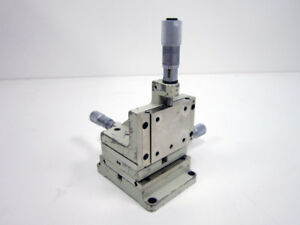 Line Tool A rh Xyz Linear Motion Stage Micropositioner W Micrometers