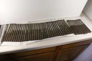 Lot Of 49 Gammons Hand Reamers Hs 602 743 Machinist Estate